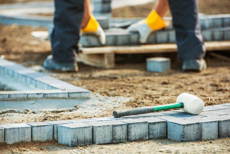 Path Brick Paving